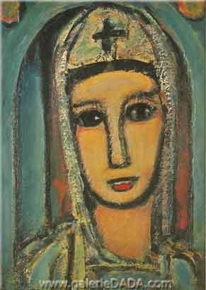 Georges Rouault, Veronica Fine Art Reproduction Oil Painting