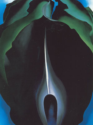 Georgia OKeeffe, Jack-in-the-Pulpit No.IV Fine Art Reproduction Oil Painting