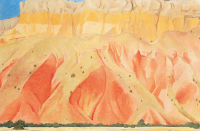 Georgia OKeeffe, Red And Yellow Cliffs Fine Art Reproduction Oil Painting