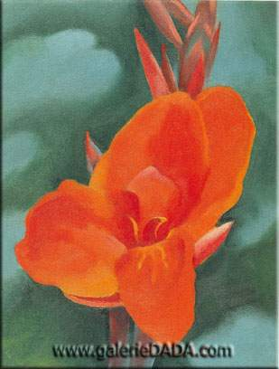 Georgia OKeeffe, Red Canna Fine Art Reproduction Oil Painting