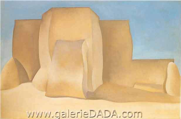 Georgia OKeeffe, The Ranchos de Taos Church Fine Art Reproduction Oil Painting