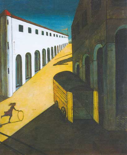 Georgio de Chirico, Mystery and Melancholy of a Street Fine Art Reproduction Oil Painting