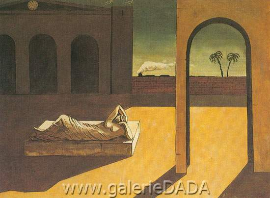 Georgio de Chirico, The Soothsayers Recompense Fine Art Reproduction Oil Painting