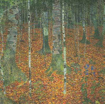 Birch Forest - Gustave Gustave, Fine Art Reproduction Oil Painting