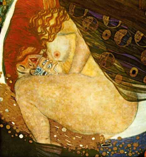 Gustave Klimt, Danae Fine Art Reproduction Oil Painting
