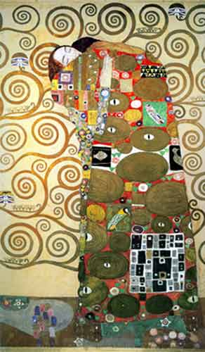 Gustave Klimt, Fulfillment Fine Art Reproduction Oil Painting