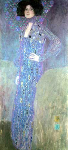 Gustave Klimt, Portrait of Emile Floge Fine Art Reproduction Oil Painting