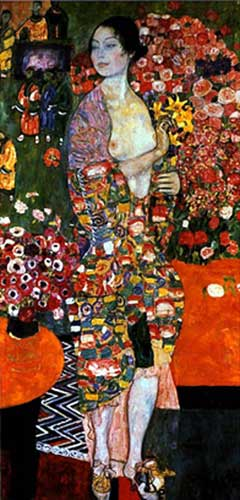 Gustave Klimt, The Dancer Fine Art Reproduction Oil Painting