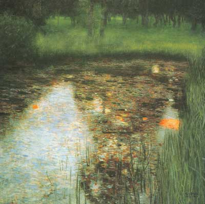 Gustave Klimt, The Swamp Fine Art Reproduction Oil Painting