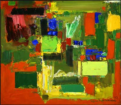 Hans Hofmann, Autumn Gold Fine Art Reproduction Oil Painting