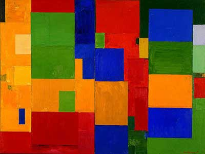 Hans Hofmann, Combinable Wall Fine Art Reproduction Oil Painting