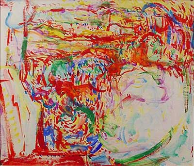 Hans Hofmann, Landscape Fine Art Reproduction Oil Painting