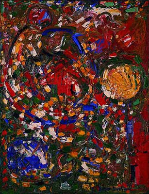 Hans Hofmann, The Garden Fine Art Reproduction Oil Painting