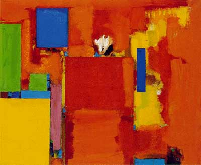 Hans Hofmann, The Golden Wall Fine Art Reproduction Oil Painting