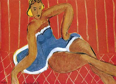 Henri Matisse, Dancer Seated on a Table Fine Art Reproduction Oil Painting