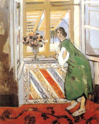 Henri Matisse, Girl with a Green Dress Fine Art Reproduction Oil Painting
