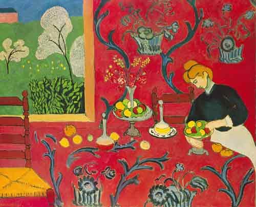 Henri Matisse, Harmony in Red Fine Art Reproduction Oil Painting