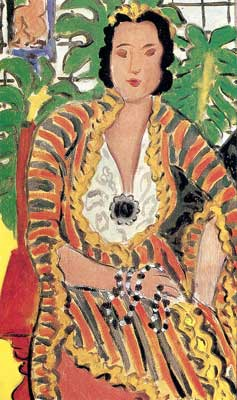 Henri Matisse, Helen with a Precious Stone Fine Art Reproduction Oil Painting