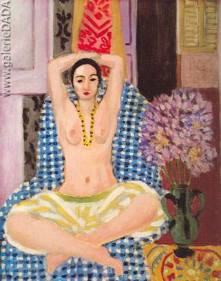 Henri Matisse, Hindu Pose Fine Art Reproduction Oil Painting