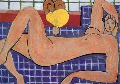 Henri Matisse, Large Reclining Nude -The Pink Nude Fine Art Reproduction Oil Painting