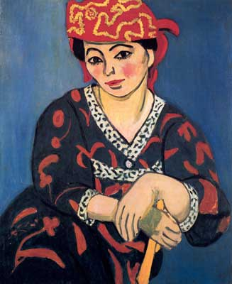 Henri Matisse, Madame Matisse Fine Art Reproduction Oil Painting