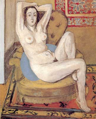 Henri Matisse, Odalisque with Magnolia Fine Art Reproduction Oil Painting