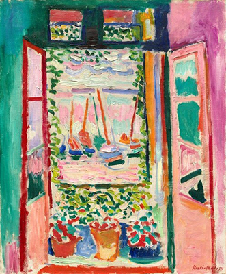 Henri Matisse, Open Window Fine Art Reproduction Oil Painting
