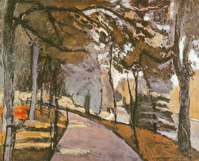Henri Matisse, Path in the Bois de Boulogne Fine Art Reproduction Oil Painting
