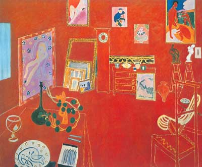 Henri Matisse, Red Studio Fine Art Reproduction Oil Painting