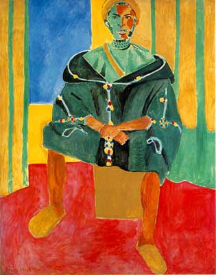 Henri Matisse, Seated Riffian Fine Art Reproduction Oil Painting