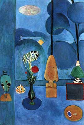 Henri Matisse, The Blue Window Fine Art Reproduction Oil Painting