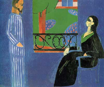 Henri Matisse, The Conversation Fine Art Reproduction Oil Painting