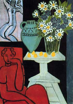 Henri Matisse, The Daisies Fine Art Reproduction Oil Painting