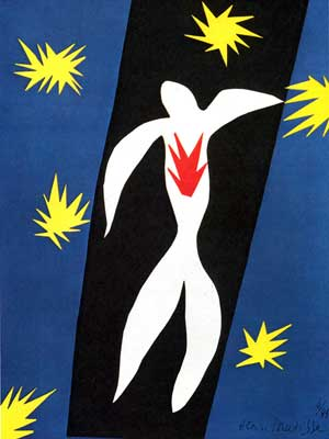 Henri Matisse, The Fall of Icarus Fine Art Reproduction Oil Painting