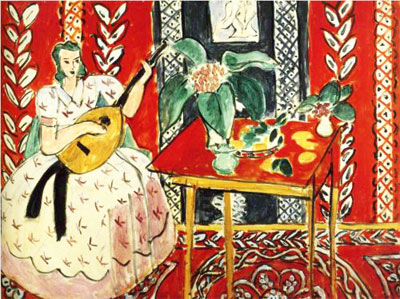 Henri Matisse, The Lute Fine Art Reproduction Oil Painting