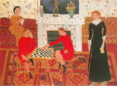 Henri Matisse, The Painters Family Fine Art Reproduction Oil Painting