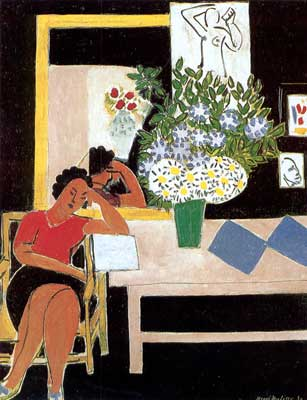 Henri Matisse, The Red Table Fine Art Reproduction Oil Painting