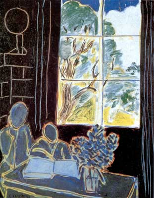 Henri Matisse, The Silence That Lives in Houses Fine Art Reproduction Oil Painting