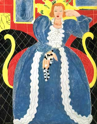 Henri Matisse, Woman in Blue Fine Art Reproduction Oil Painting