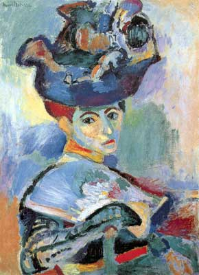 Henri Matisse, Woman with a Hat (Madame Matisse) Fine Art Reproduction Oil Painting