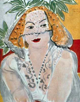 Henri Matisse, Woman With A Veil Fine Art Reproduction Oil Painting