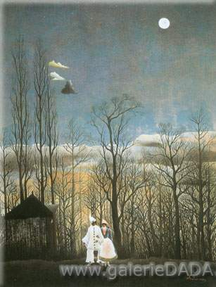 Henri Rousseau, A Carnival Evening Fine Art Reproduction Oil Painting