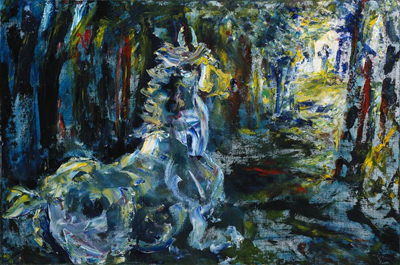 Jack Butler Yeats, For the Road Fine Art Reproduction Oil Painting