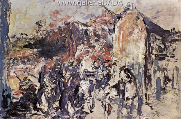 Jack Butler Yeats, Grief Fine Art Reproduction Oil Painting