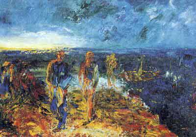 Jack Butler Yeats, Men of Destiny Fine Art Reproduction Oil Painting