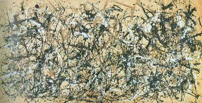 Jackson Pollock, Autumn Rhythm: Number 30, 1950 Fine Art Reproduction Oil Painting