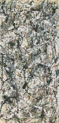 Jackson Pollock, Cathedral Fine Art Reproduction Oil Painting