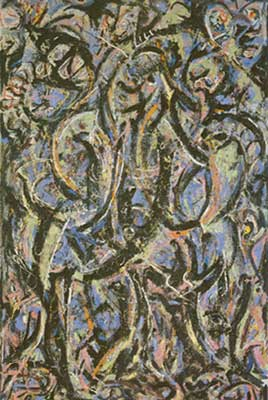 Jackson Pollock, Gothic Fine Art Reproduction Oil Painting