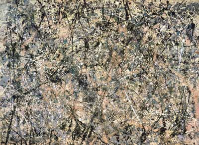 Jackson Pollock, Lavender Mist: Number 1 1950 Fine Art Reproduction Oil Painting