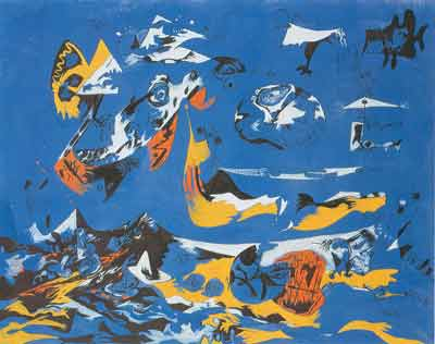 Jackson Pollock, Moby Dick Fine Art Reproduction Oil Painting